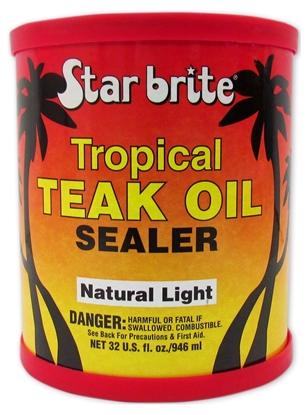 Picture of Tropical Teak Oil & Sealer 500ml Light Teak (087916N) Each