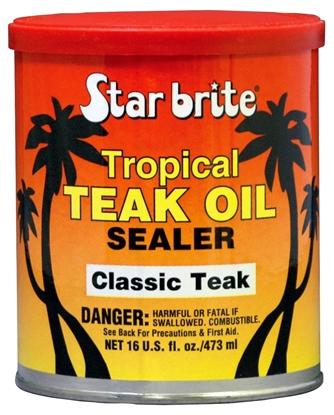 Picture of Tropical Teak Oil & Sealer 500ml Classic Teak (088016N) Each
