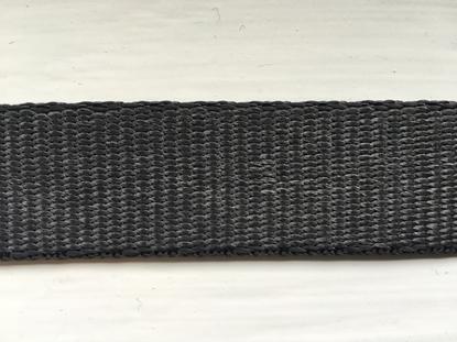 Picture of Webbing Dyneema 25mm Black (R2381025001 UHWMPE) Metre