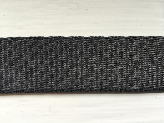 Picture of Webbing Dyneema 25mm Black (R2381025001 UHMWPE) Metre