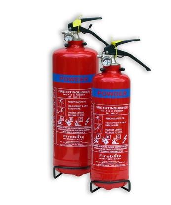 Picture of Fire Ext 1kg ABC Powder Brass Valve (FBP1) Each