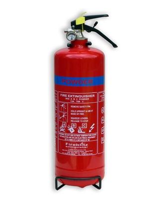 Picture of Fire Ext 2kg ABC Powder Brass Valve (FBP2) Each