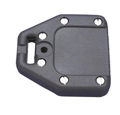 Picture of Bainbridge Batten Box for Flat Battens Up To 45mm Black  (A303BK) Each