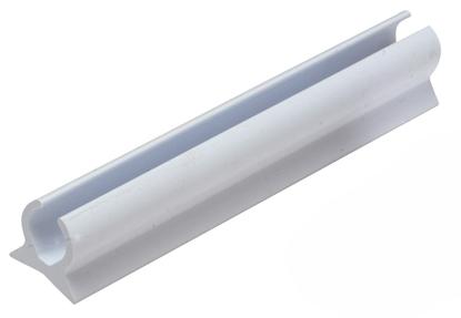 Picture of Flex-A-Rail Awning Track White 1.5m Semi Rigid PVC (G512015) Each